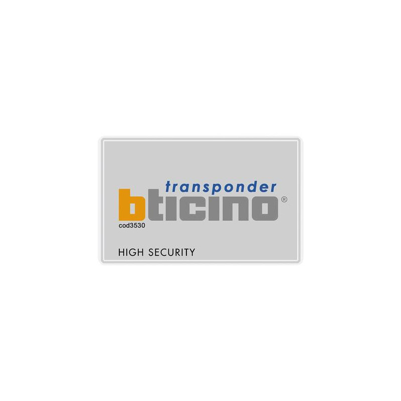TRANSPONDER A PROSSIMITA' - BTICINO LEGRAND 3530