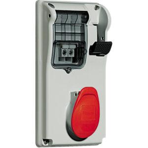PRESA INTERB COMP QUAD IP44 16A 3P+N+T 400V CON BASE - BTICINO LEGRAND CBC416/43P