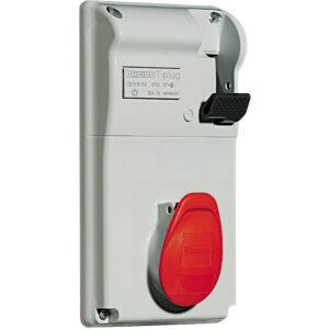 PRESA INTERB DA QUAD IP44 16A3P+T 400V CON BASE - BTICINO LEGRAND CBS316/43P