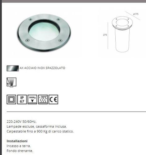 LAMPADA CASSIOPEA: E27 MAX.. 40W E27 NOVALUX - NOVALUX SRL A5111AX