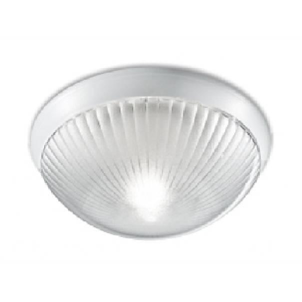 Plafoniera stagna da esterno rotonda bianca nautilux - NOVALUX SRL A5807BI