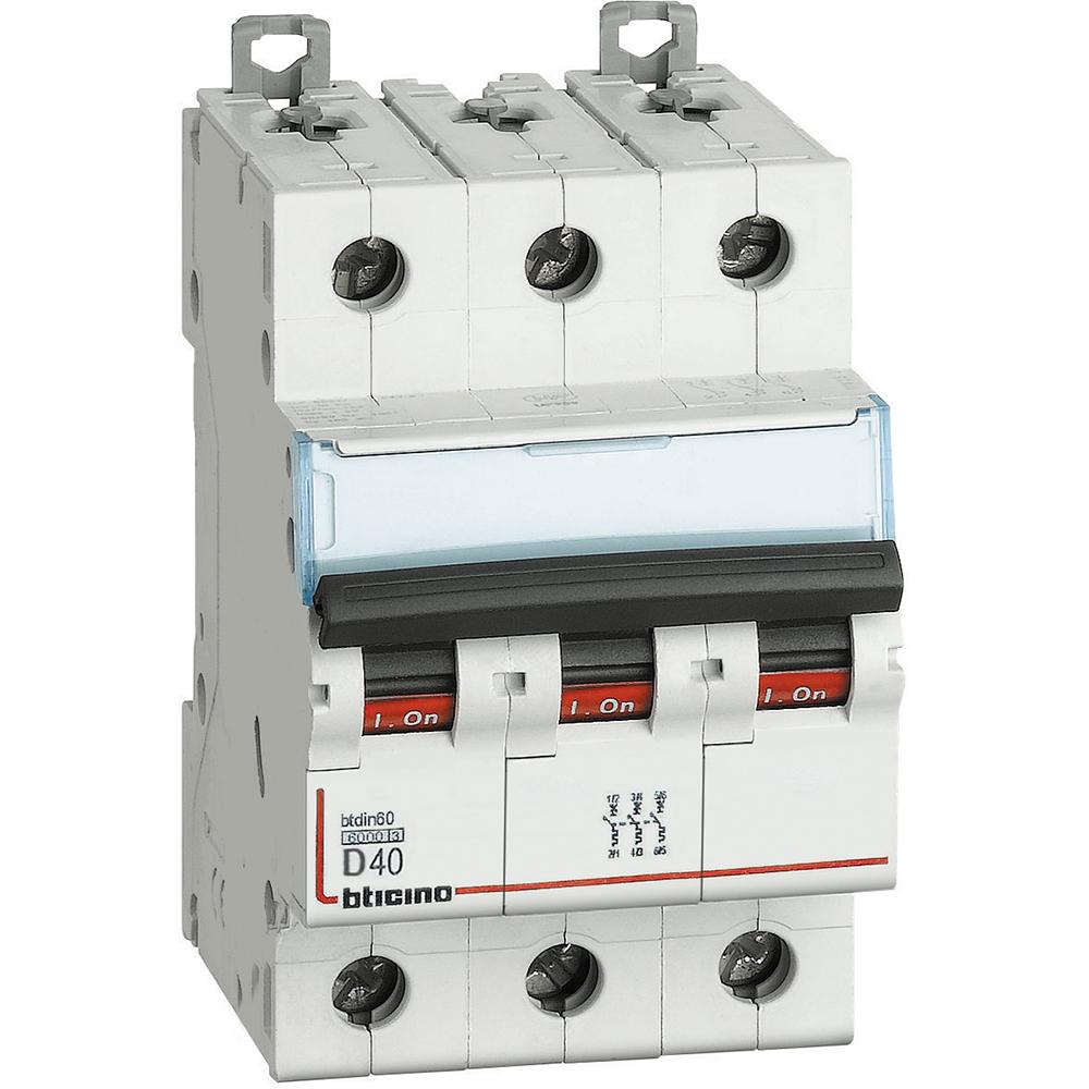 interruttore magnetotermico - BTICINO LEGRAND F83D/40