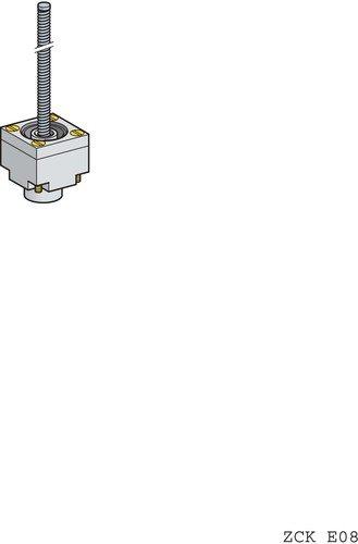 Schneider ZCKE08 Testa per Finecorsa, Bianco - SCHNEIDER ELECTRIC ZCKE08