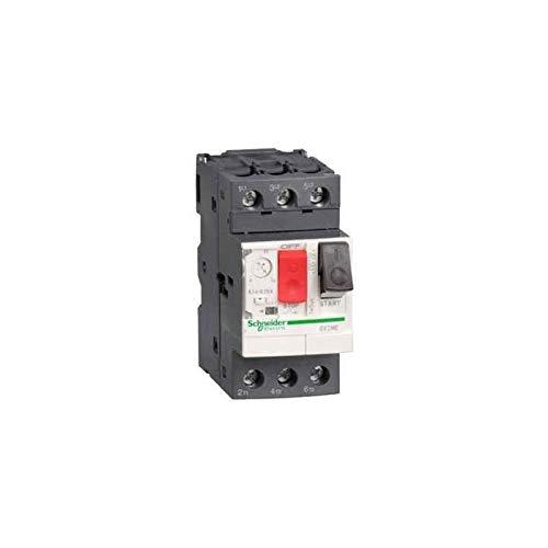 Schneider GV2ME16 Interruttore Salvamotore 9-14 a, Bianco - SCHNEIDER ELECTRIC GV2ME16
