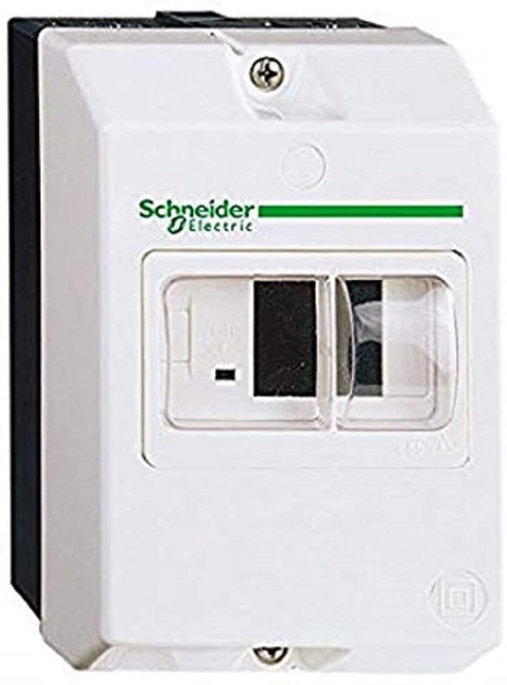 Schneider GV2MC02 Cassetta Sporgente Ip55, Bianco - SCHNEIDER ELECTRIC GV2MC02