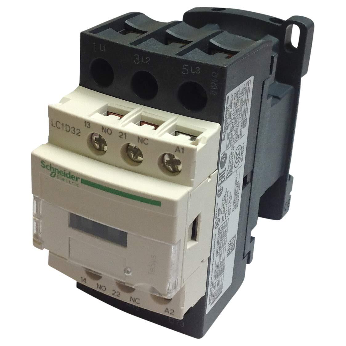 Schneider CONTACTOR 32A 220VAC LC1D32M7 - SCHNEIDER ELECTRIC LC1D32M7