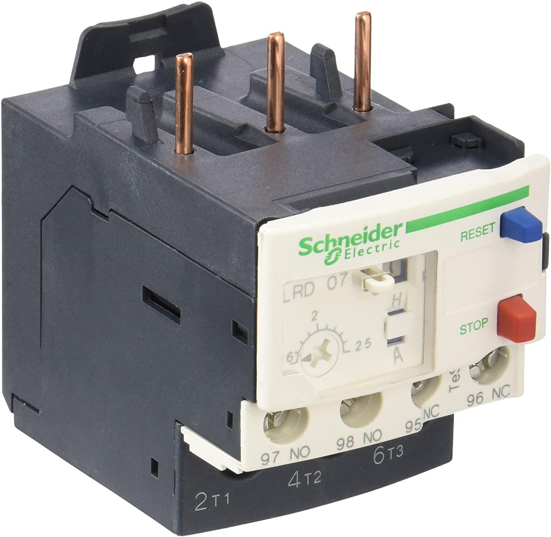 Schneider LRD07 Relè Termico 1,6-2,5A, Bianco - SCHNEIDER ELECTRIC LRD07