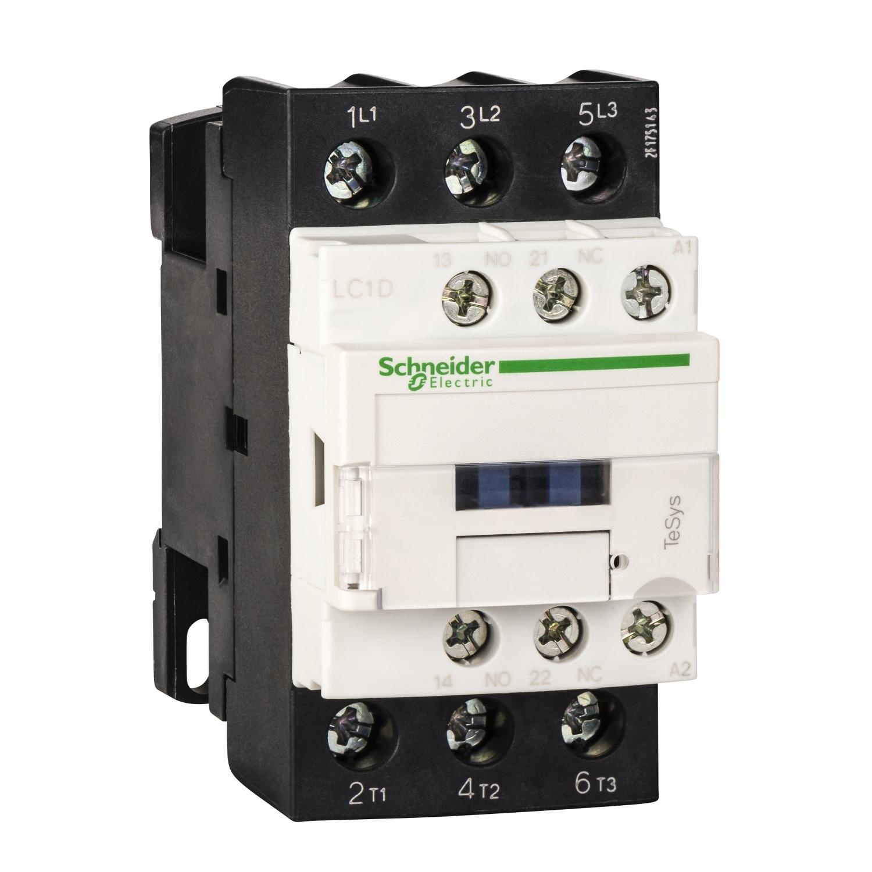 Schneider - CONTATTORE 25A 220VAC 50/ LC1D25M7 - SCHNEIDER ELECTRIC LC1D25M7