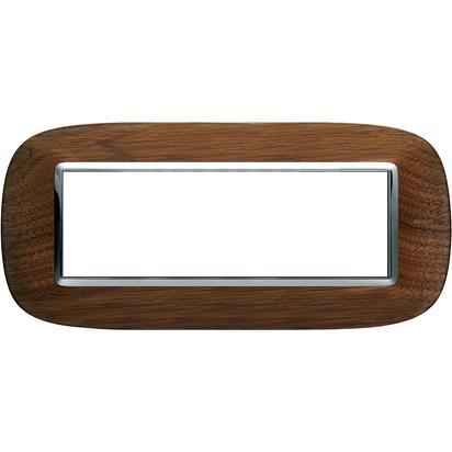 Bticino Axolute HB4806LNC – ax-placa 6 m legno di noce - BTICINO LEGRAND HB4806LNC
