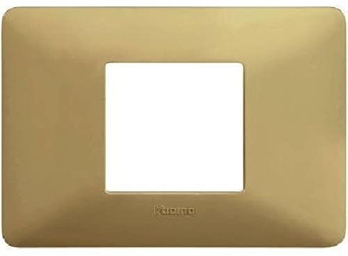 BTICINO - MATIX PLACCA 2 Moduli Centrati -CORDA - BTICINO LEGRAND AM4819BCD