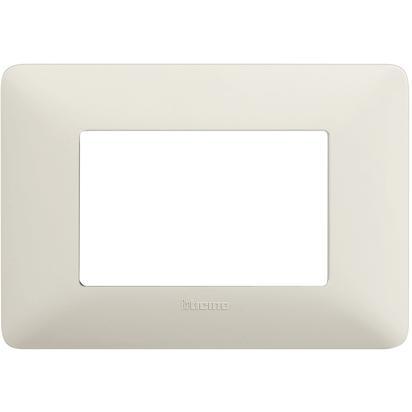 BTICINO MATIX - Placca 3 Moduli AM4803BCN - BTICINO LEGRAND AM4803BCN