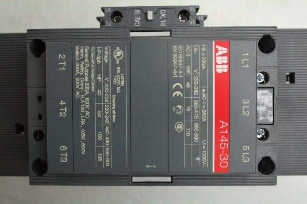 A145-30-11 230V/50-60HZ - ABB SACE EN 168 9