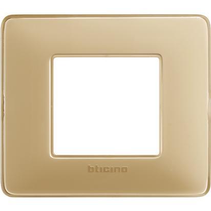 BTICINO MATIX - Placca 2 moduli AM4802CAV - BTICINO LEGRAND AM4802CAV