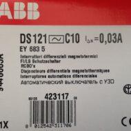 INTERRUTTORE DIFFERENZIALE MAGNETOTERMICO 6A 2P 300MA - ABB SACE EY 691 8