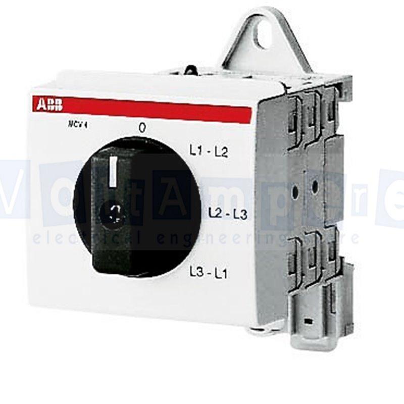 MCV-4 COMMUTATORE VOLTMETRICO - ABB SACE EG 620 7