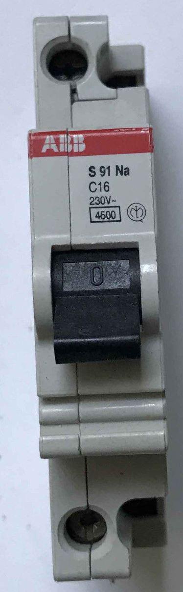 INTERRUTTORE MAGNETOTERMICO C25 4,5KA UNIPOLARE - ABB SACE EF 684 4