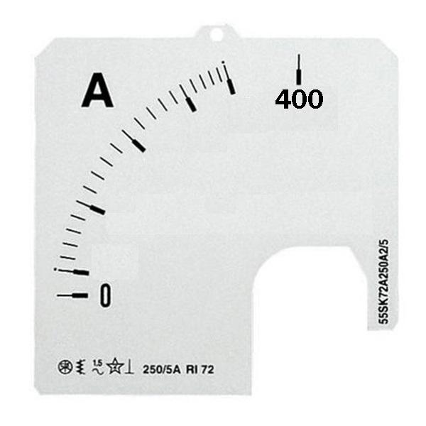 SCL-A5-400/72 SCALA A1 PER AMPEROMETRO CA - ABB SACE EH 305 4