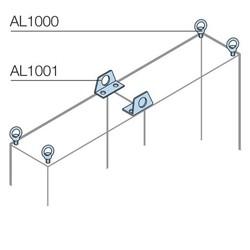 KIT 4 GOLFARI M8X13 - ABB SACE AL1000