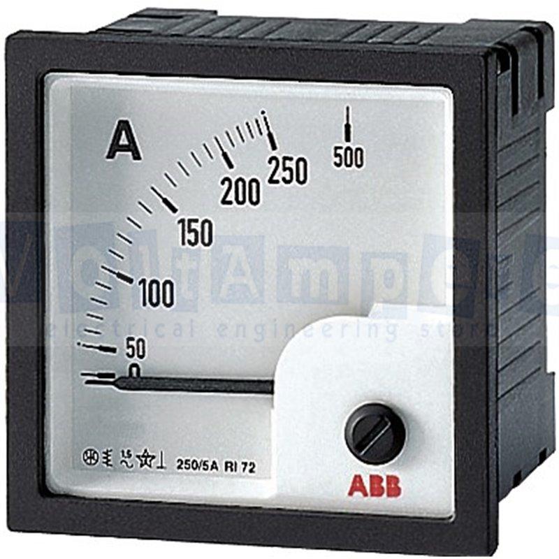 AMT1-A1-15/72 AMPEROMETRO ANALOGICO - ABB SACE EG 266 9
