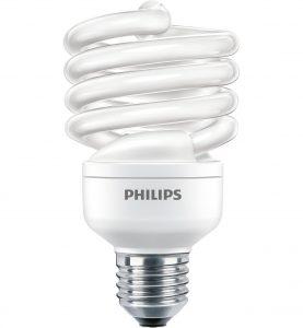 Philips Economy Twister Twisted energy saving bulb 871829121715200 - Fluorescent Bulbs (23 W, 100 W, Twistline, E27, 1390 lm, Cool daylight) - PHL TORN23CDL