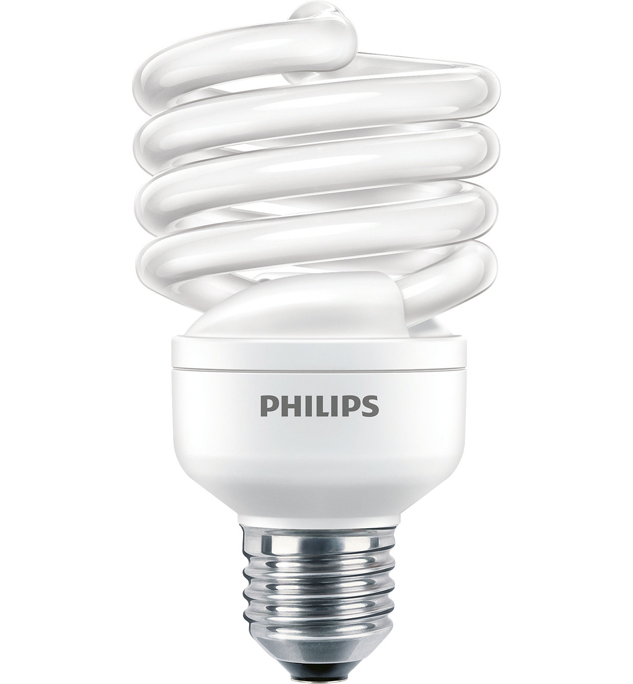 Philips Economy Twister Twisted energy saving bulb 871829121715200 - Fluorescent Bulbs (23 W, 100 W, Twistline, E27, 1390 lm, Cool daylight) - PHL TORN23CDL