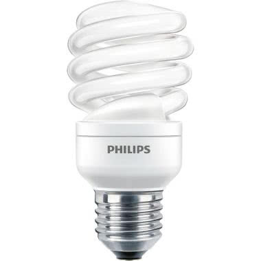 Philips TORN15CDL - Economy Twister - Compact fluorescent lamp with integrated ballast - Classe di efficienza energetica (ELL): A - Temperatura di colore correlata (Nom): - PHL TORN15CDL