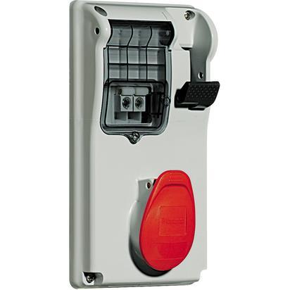 BTI CBC416/43 - PRESA INTERB COMP QUAD IP44 16A 3P+N+T 400V - BTICINO LEGRAND CBC416/43