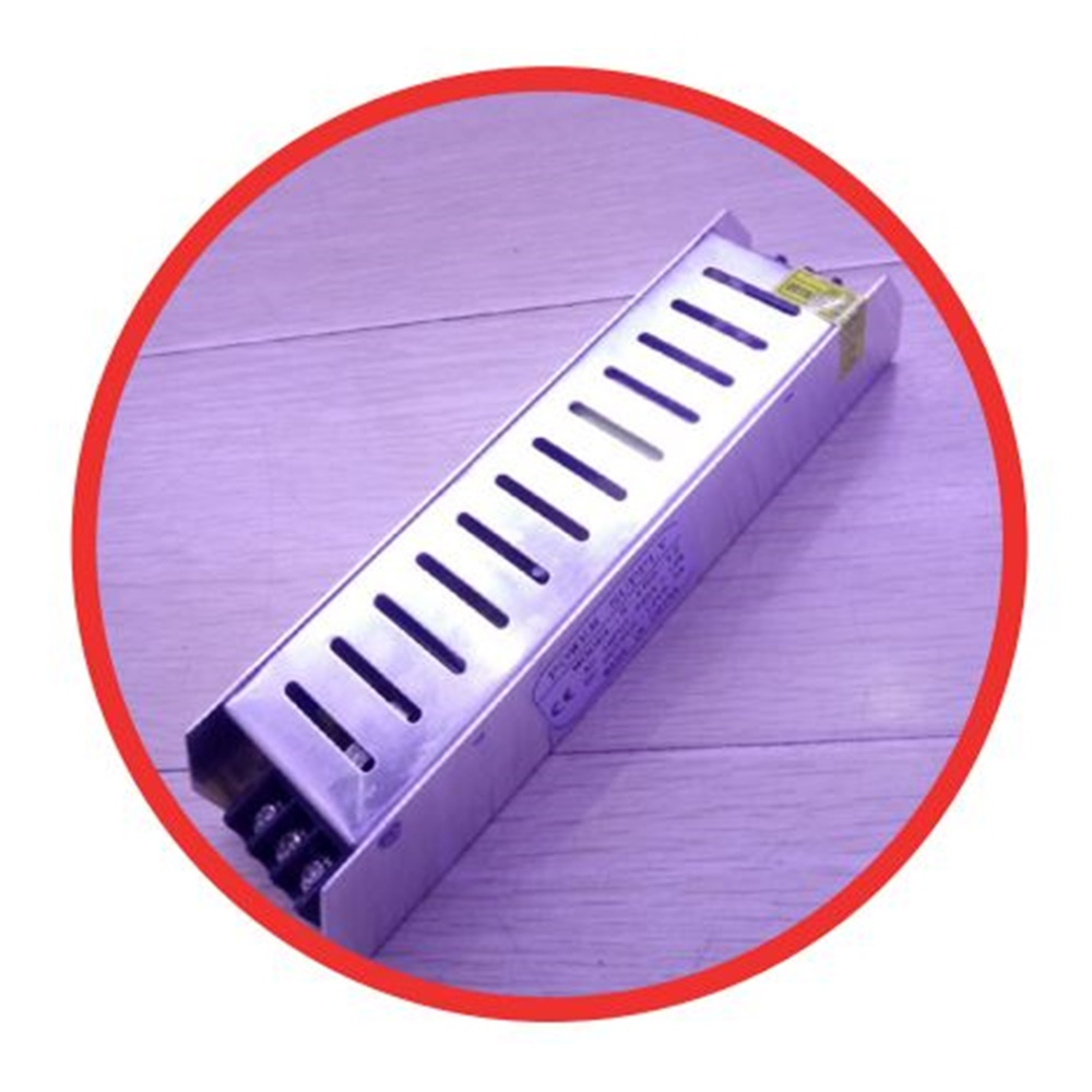 ALIMENTATORE SLIM 24VCC PER STRISCE A LED 100W 110/220 VCA - KIT GIGRA LINE PS10024L