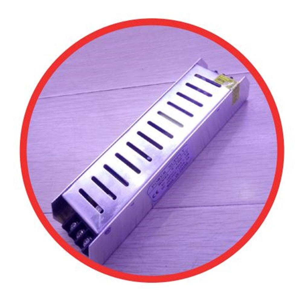 ALIMENTATORE SLIM 24VCC PER STRISCE A LED 60W 2,5A 110 / 220 Vca - KIT GIGRA LINE PS06024L