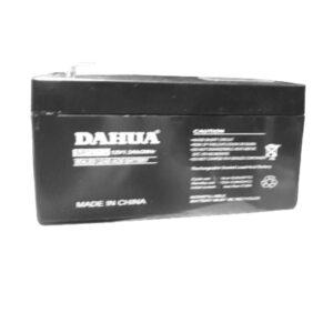 Batteria ricaricabile al piombo 12V 1,3AH per allarmi antifurto ups lampade di emergenza giocattoli videosorveglianza - BP012-1,3 - KIT GIGRA LINE BP12-1,3