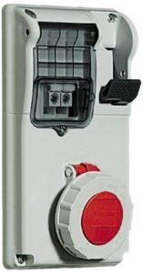 BTICINO CBC416/53 - PRESA INTERB COMP QUAD IP55 16A 3P+N+T 400V - BTICINO LEGRAND CBC416/53