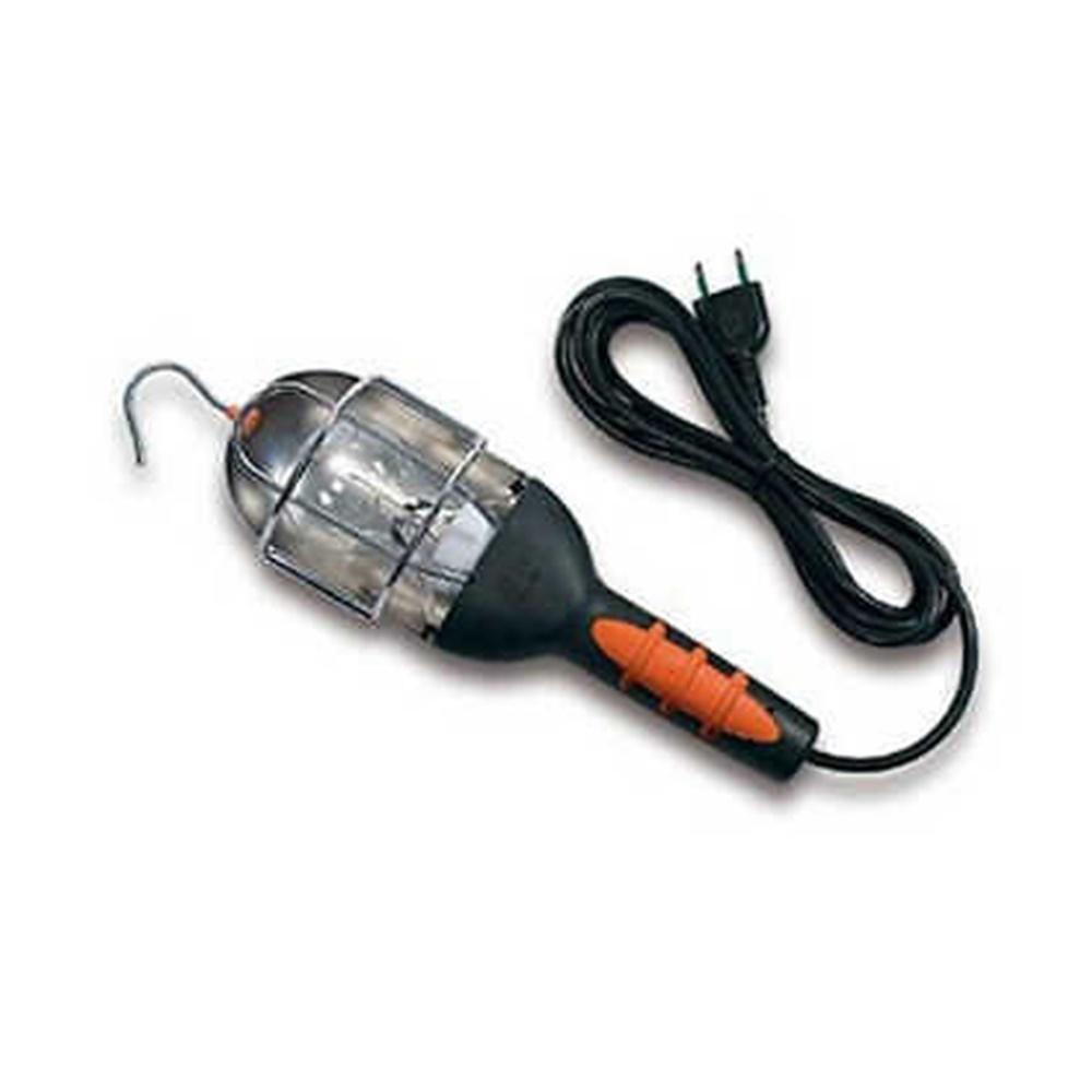 PORTA LAMPADA DA LAVORO GABBIA METALLICA 5 METRI 60W E27 230V IP20 FANTON - FME 61050