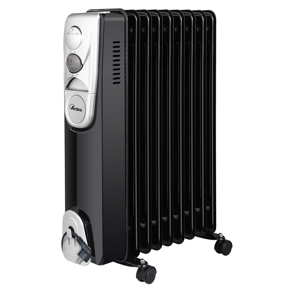 Radiatore a Olio Elettrico con 9 Elementi e 3 Potenze 2000W - ARD AR4R09B