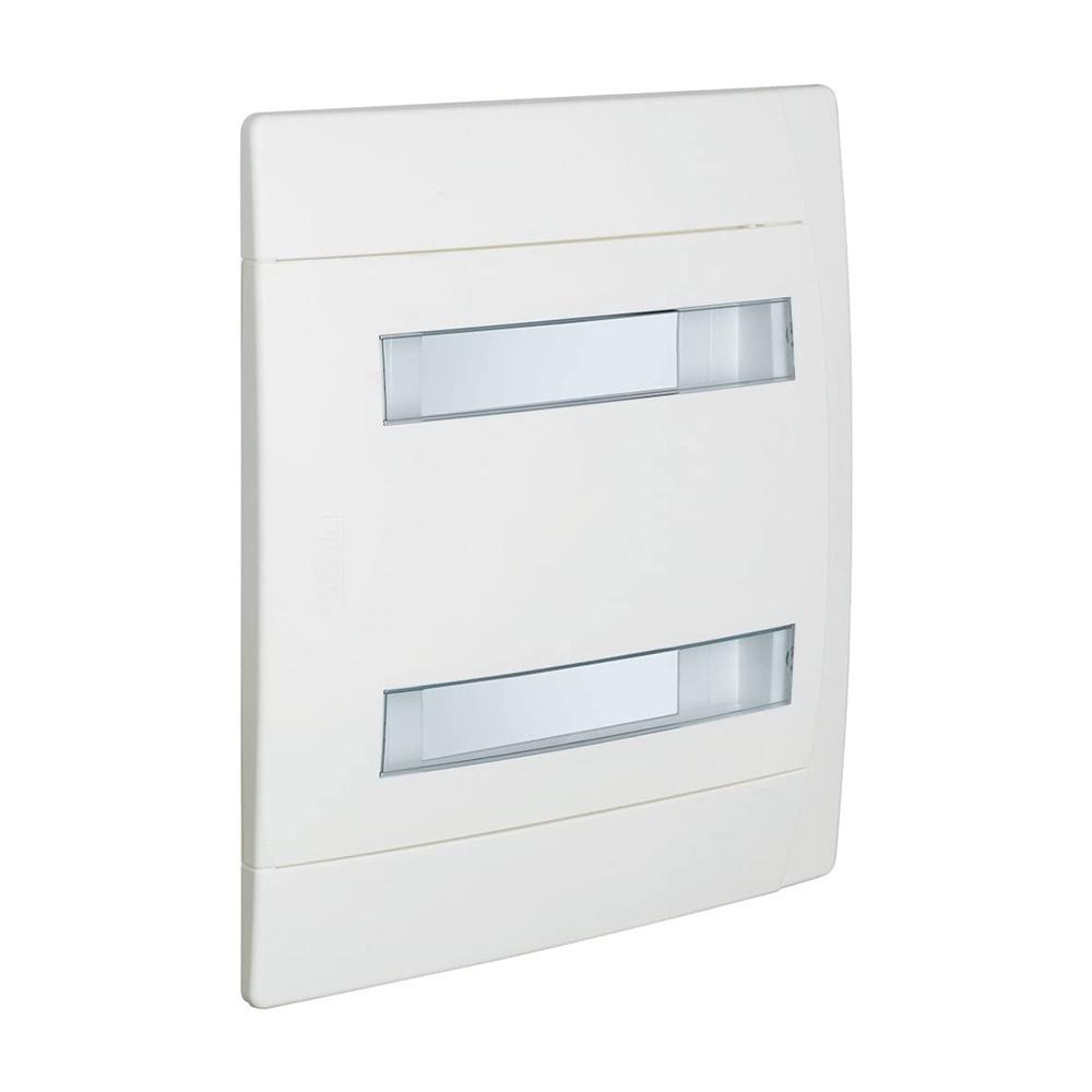Centralino da incasso 24 moduli 2x12 serie E215 bianco IP40 - BTICINO LEGRAND E215P24BN
