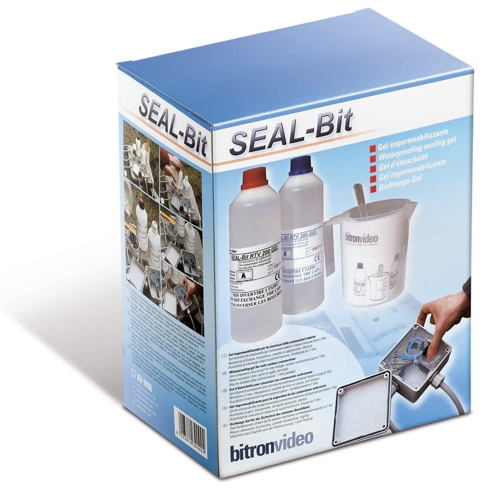Gel sigillante SEAL-Bit 1 KG Trasparente Bitron - COD. AV9996