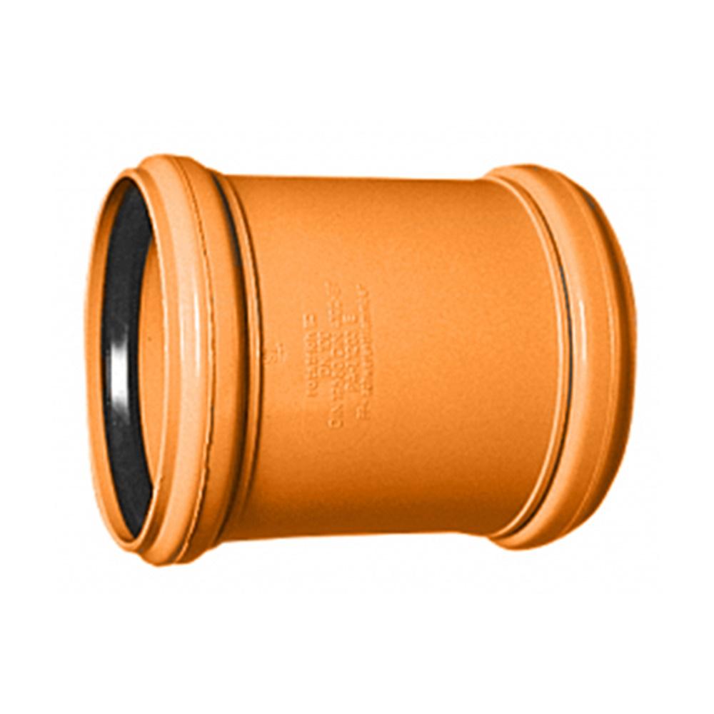 Manicotto pvc con guarnizione diametro 100 - COD. IDFMA100