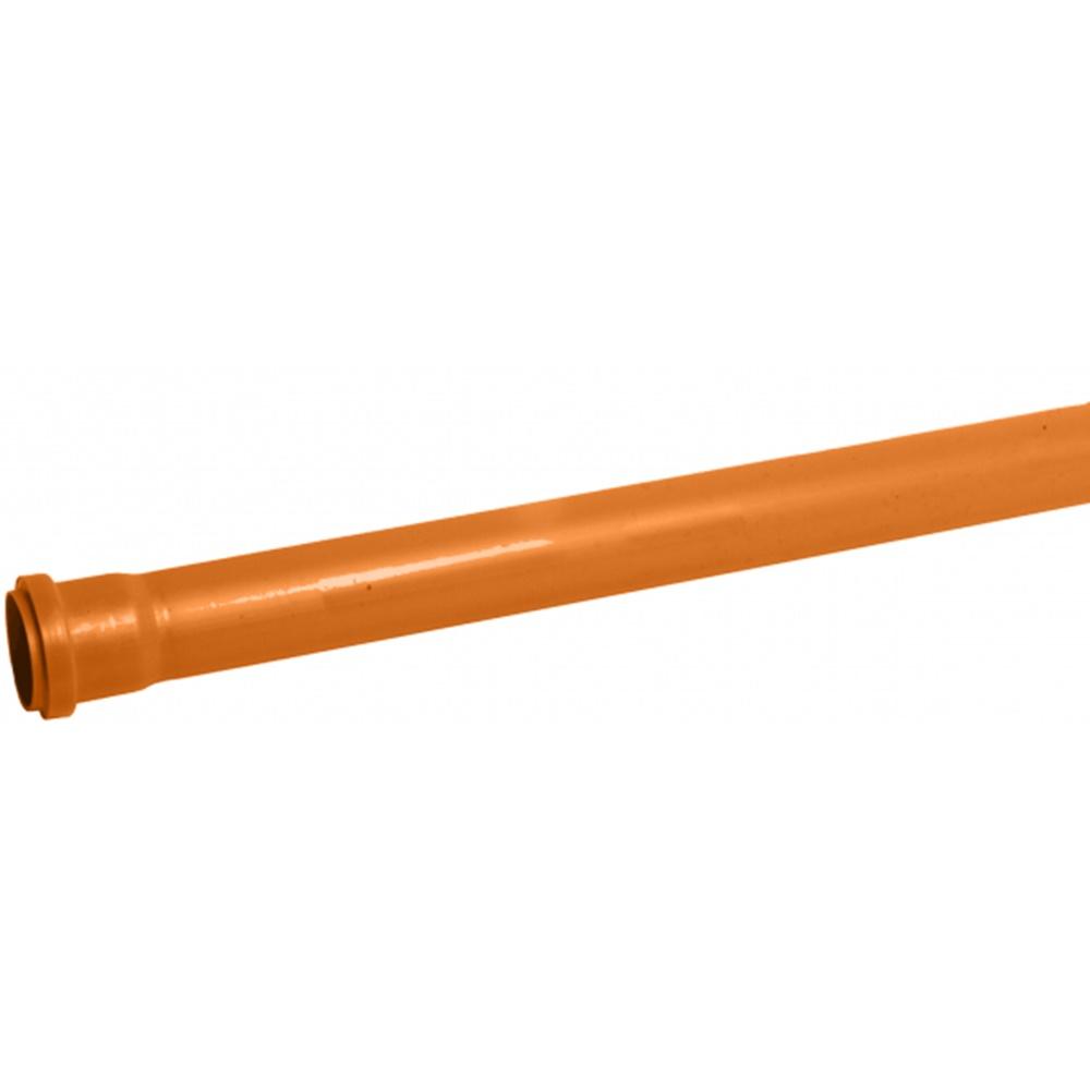 Tubo pvc con guarnizione fognatura 3 metri diametro 100 - COD. IDFTFGN100300