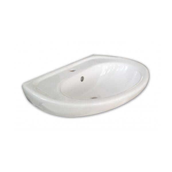 Lavabo serie set 1 fayans cm 60 bianco Roca - COD. SET1L60