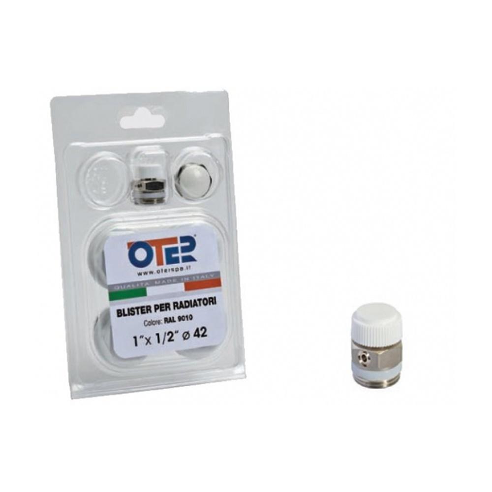 "Kit riduzioni per radiatori alluminio ø 1""attacco 3/8"" r9010 - COD. MELANIADX"