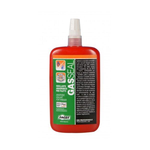 TEFLON LIQUIDO SIGILLANTE ANAEROBICO GAS SEAL 100 g OMOLOGATO ACQUA GAS FACOT - COD. TL100