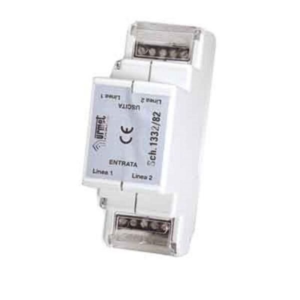 Dispositivo di protezione per 2 linee telefoniche analogiche - URMET 1332/82