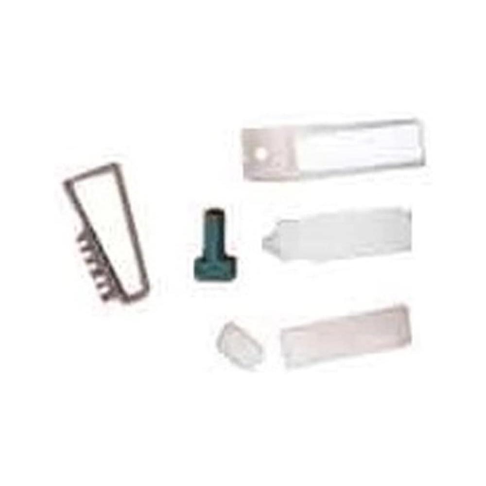 Confezione Tasto Ricambio Pulsantiera Citofonica Alluminio Pulsante Esterno - URMET 4812/10