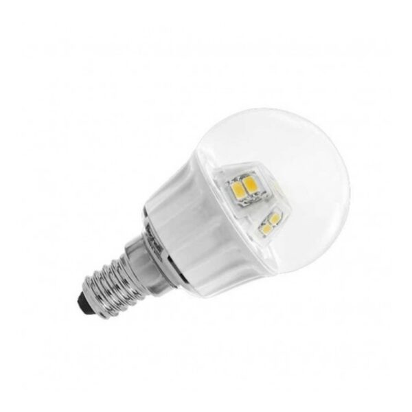 LAMPADA LED SFERA E14 4W 3000K - BEGHELLI 56070
