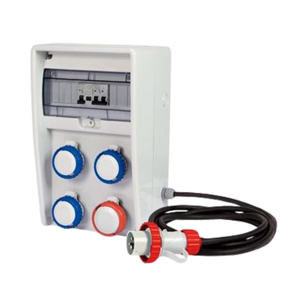 Quadro elettrico distribuzione ASC IP65 Ulisse per cantieri con cavo 4m Fanton - FME 74323