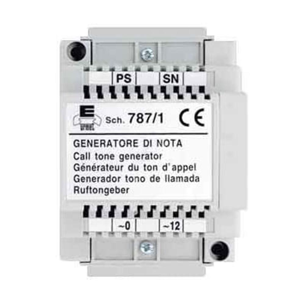 Generatore di Nota Positivo 4 Moduli Sistemi citofonici 4+N - URMET 787/1