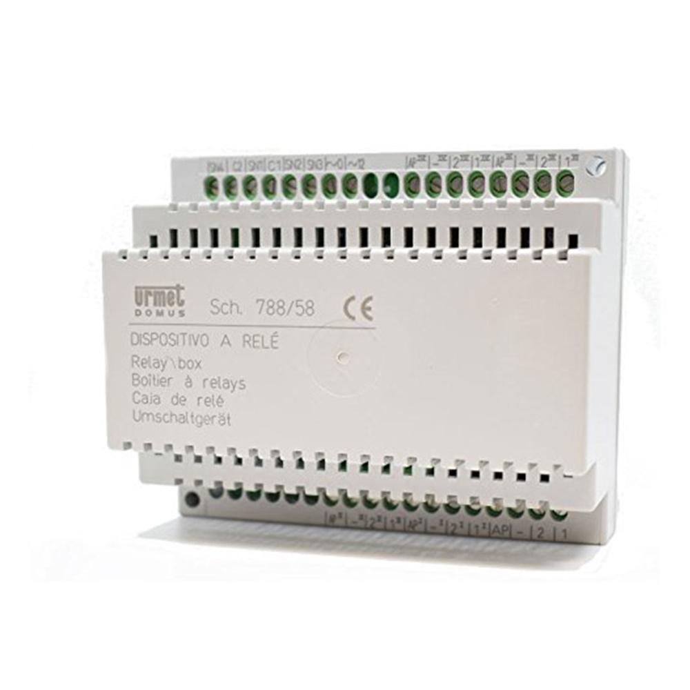 Scambiatore Per 4 Pulsantiere o Servizi Audio - URMET 788/58