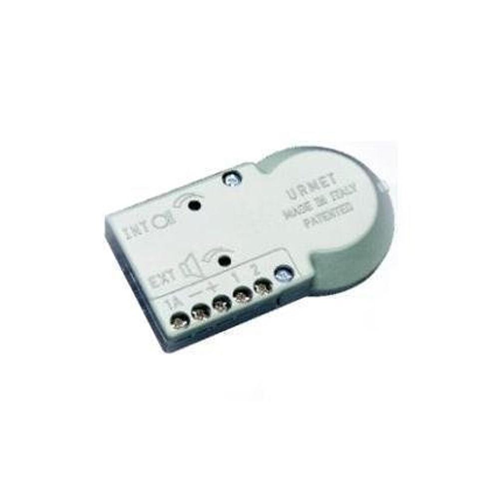 Posto esterno amplificato con microfono a elettrete - URMET 824/500