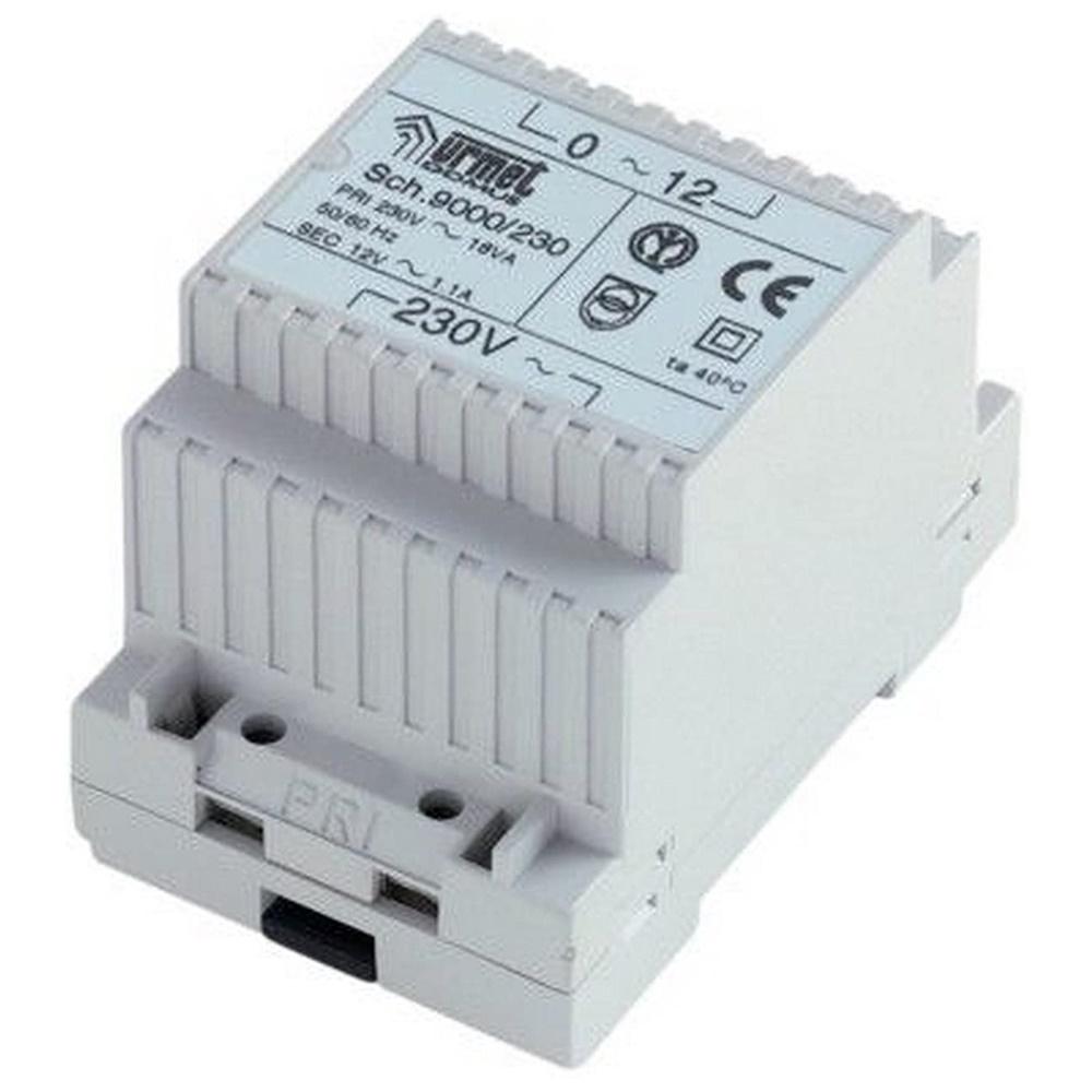 Trasformatore 12Vac (230Vac 50Hz) - URMET 9000/230