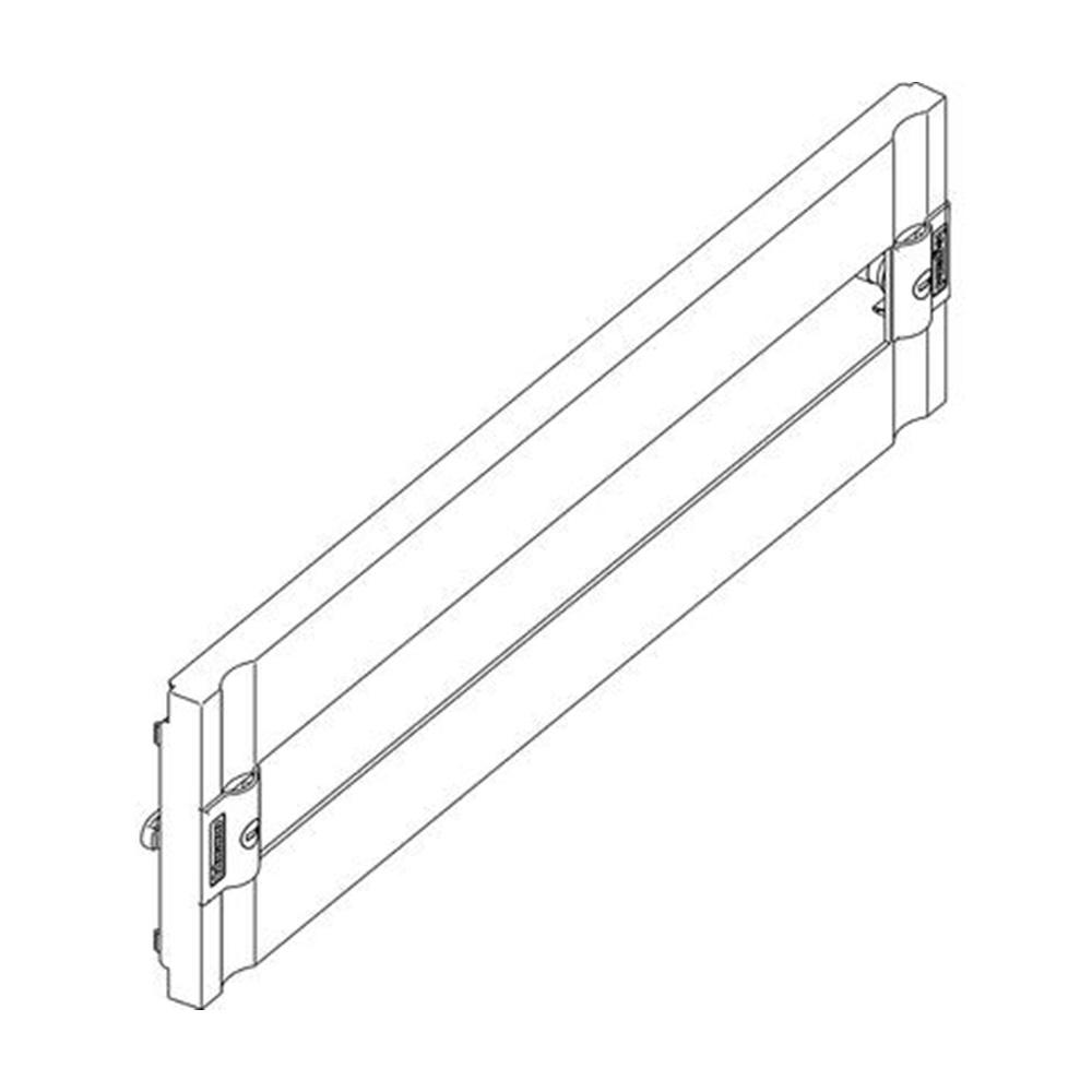 Pannello in plastica con finestra DIN35 per installazione di 24 moduli - BTICINO LEGRAND 9429/24PL