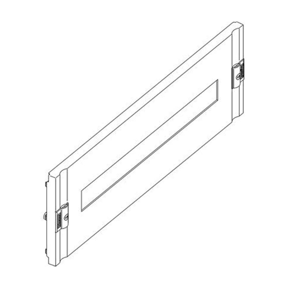 Pannello in plastica con finestra DIN35 per installazione di 24 moduli - BTICINO LEGRAND 9531/24PL